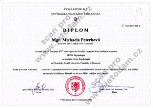 Diplom PhDr.