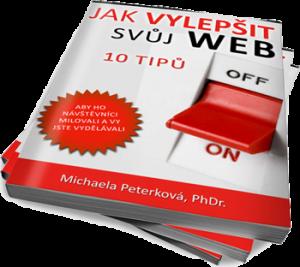 Jak vylepšit svůj web, e-book zdarma